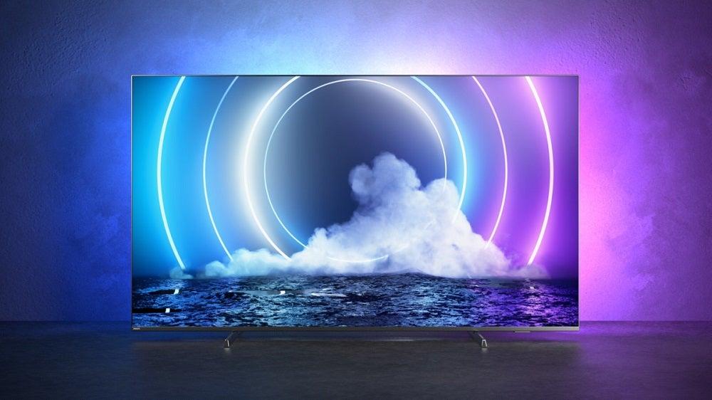 lifestyle image of Philips MiniLED 9506 TV