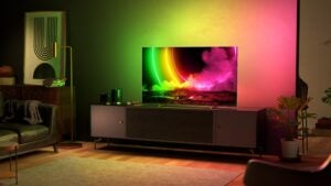 Philips new OLED806 TV for 2021