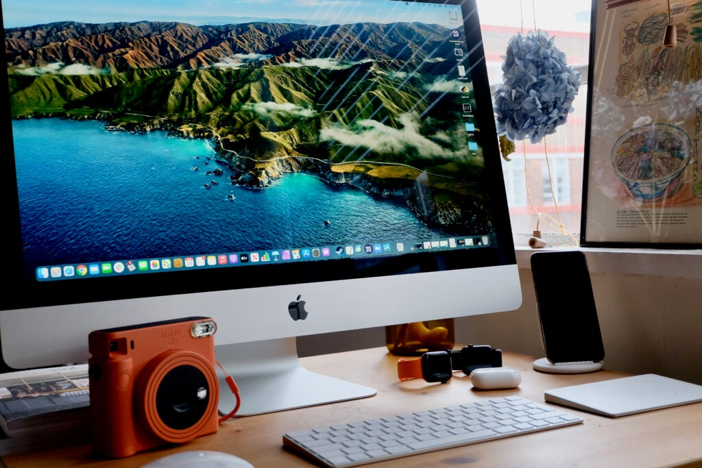 We've got our fingers crossed that Apple will finally add touchscreen support to the iMac