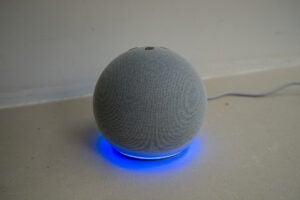 Amazon Echo Dot (4th Generation) base light