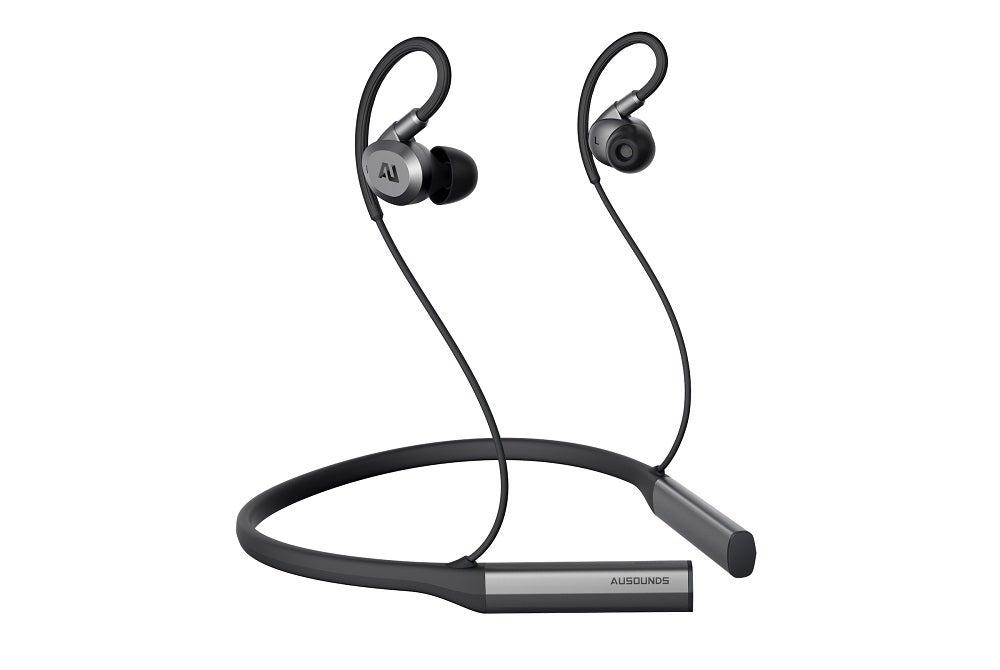 press image of the Ausounds Flex ANC neckband headphone