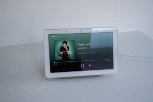 Google Home Hub music