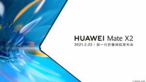 Huawei Mate X2 teaser