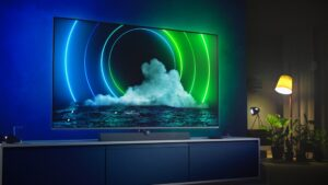 lifestyle image of Philips Mini LED 9636 TV