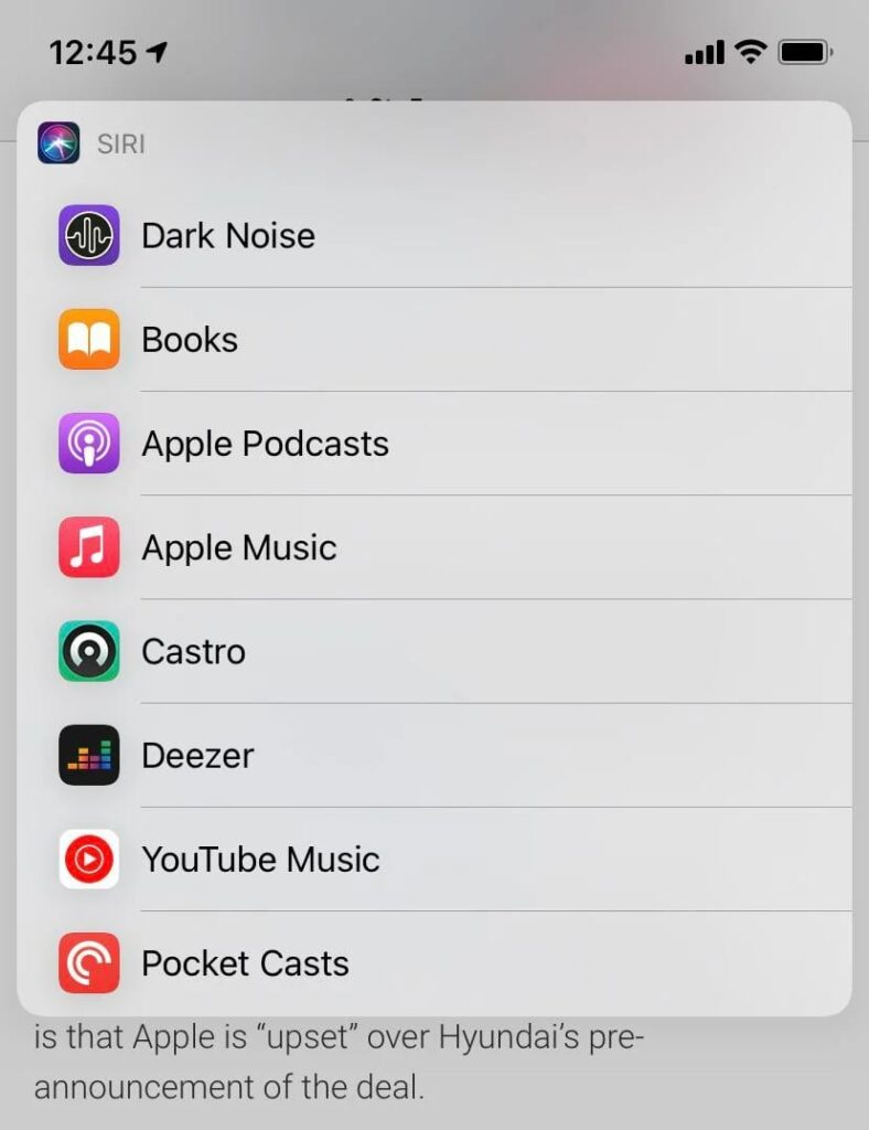 Reddit iOS beta siri music