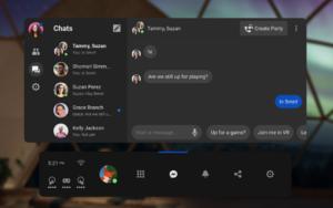 Oculus VR Messenger