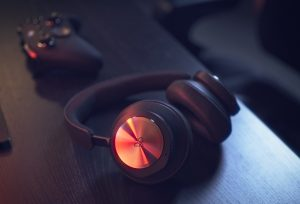 Beoplay Portal with Xbox gaming controller