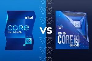 Core i9-11900k vs i9-10900k