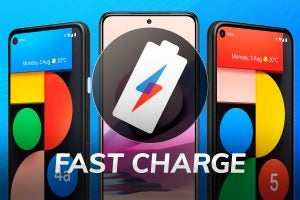 Fast Charge Pixel 5a