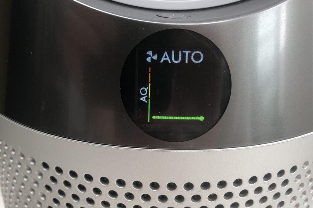 Dyson Fan clean air