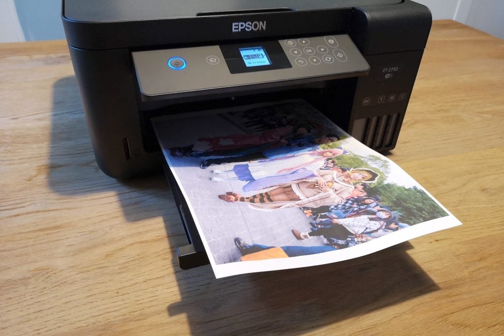 Epson EcoTank ET-2750 printing