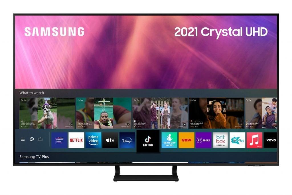 Samsung UE50AU9000 press image