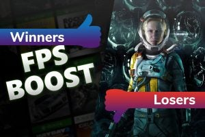 Winners and Losers Xbox FPS Boost Returnal