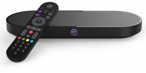 BT TV Box Pro with remote