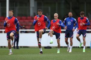 England training Euro 2020