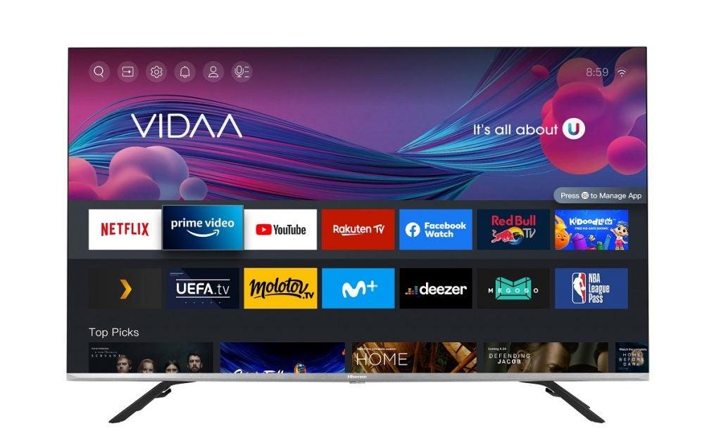 Press image of Hisense E76G 4K TV