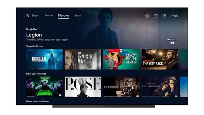 Android TV new wishlist