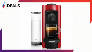 A huge discount on the Nespresso Vertuo Plus coffee machine