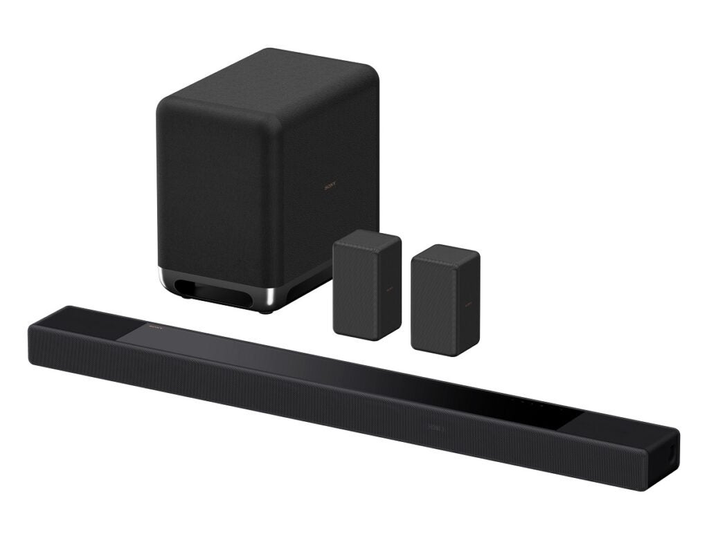 Sony HT-A7000 surround package with rear speakers