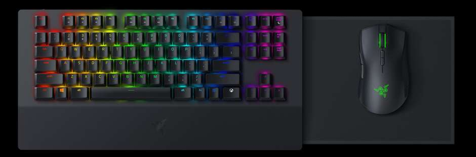The Razer Turret gives people who prefer a keyboard the chance to fly high as well.