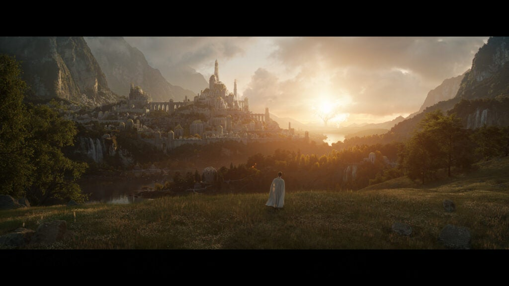 Amazon Lord of the Rings first image