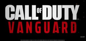 Call of Duty Vanguard name and logo
