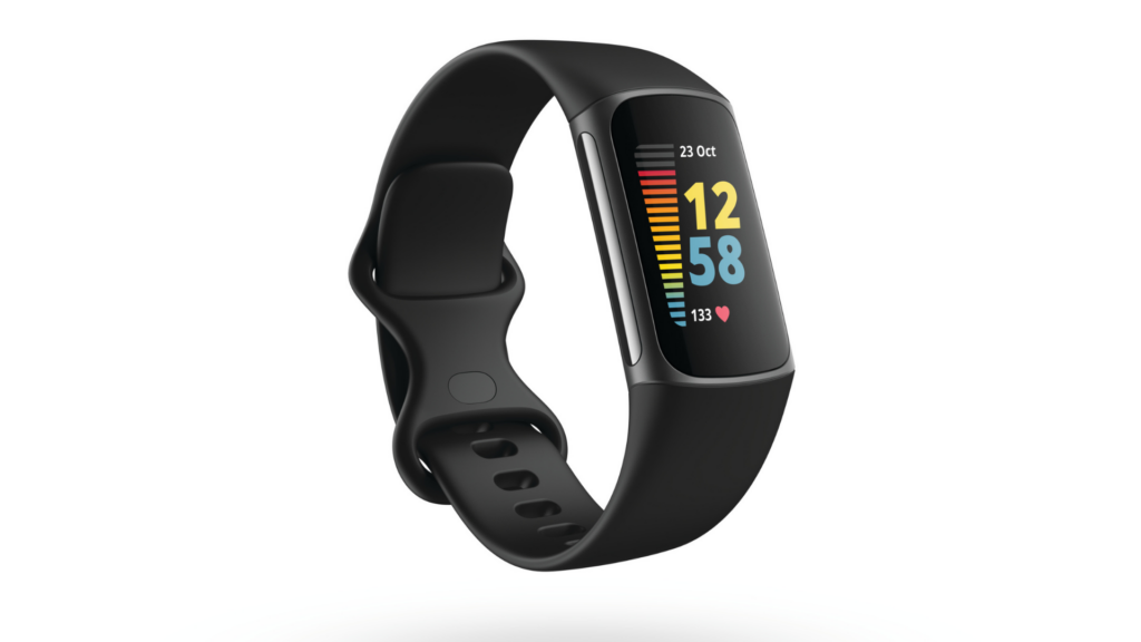A promotional shot of the Fitbit Charge 5