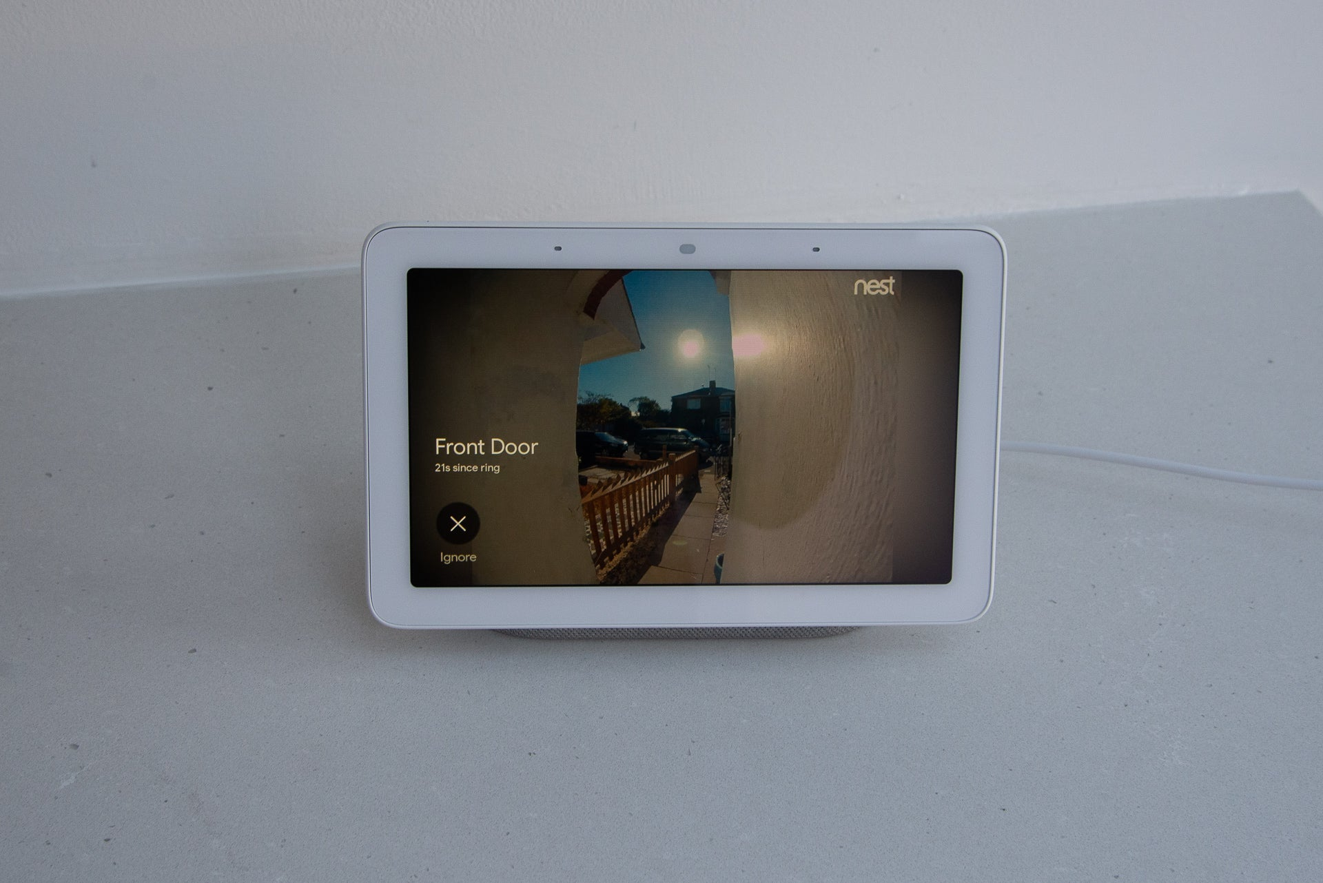 Google Home Hub Nest Hello