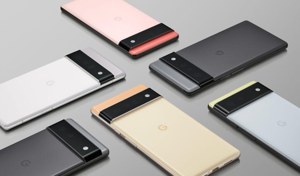 Google Pixel 6 Portfolio Shot