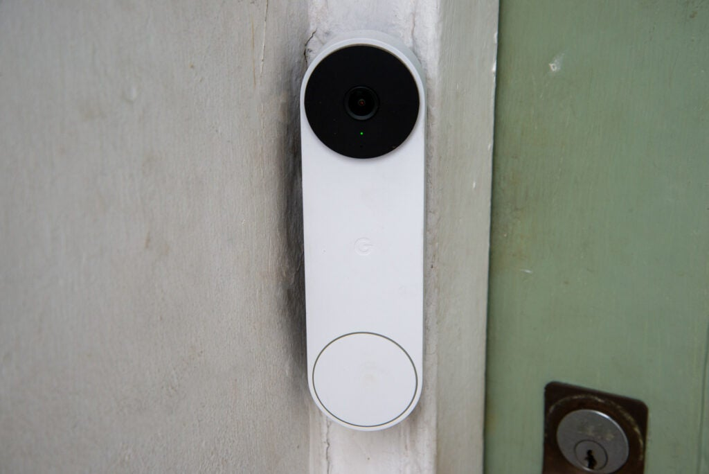 Nest Doorbell (battery) front