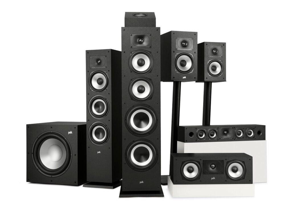 Polk Monitor XT speaker series