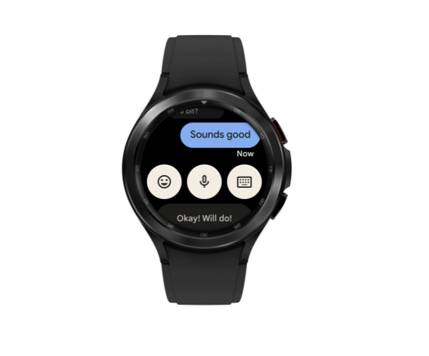 Wear OS 3 Messages