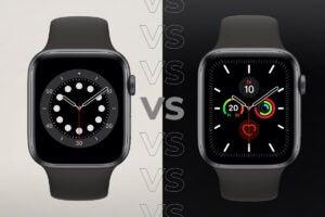 Apple Watch 6 vs Apple Watch 5
