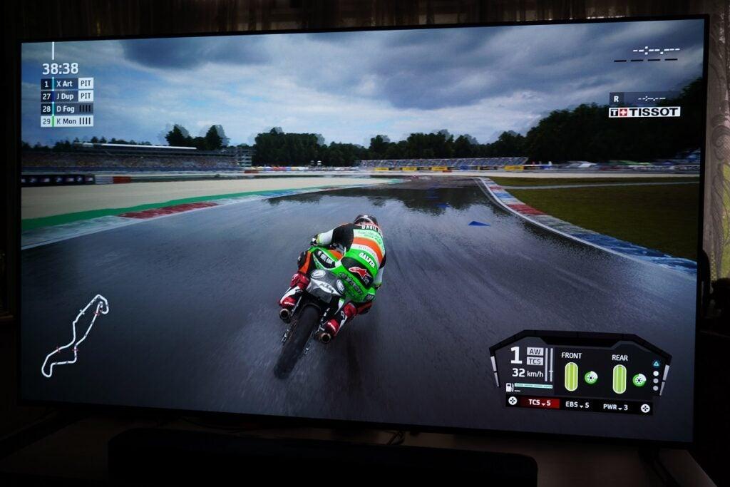 LG G1 MotoGP 21 HDR