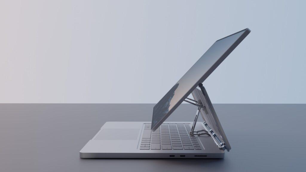 Microsoft Surface Book 4 renders