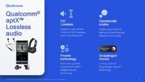 Qualcomm aptX Lossless audio presentation