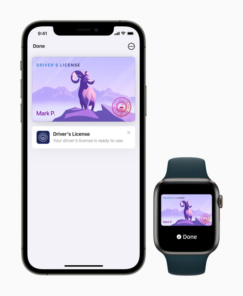 Apple Watch iPhone add ID