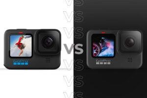 GoPro Hero 10 Black vs GoPro Hero 9 Black