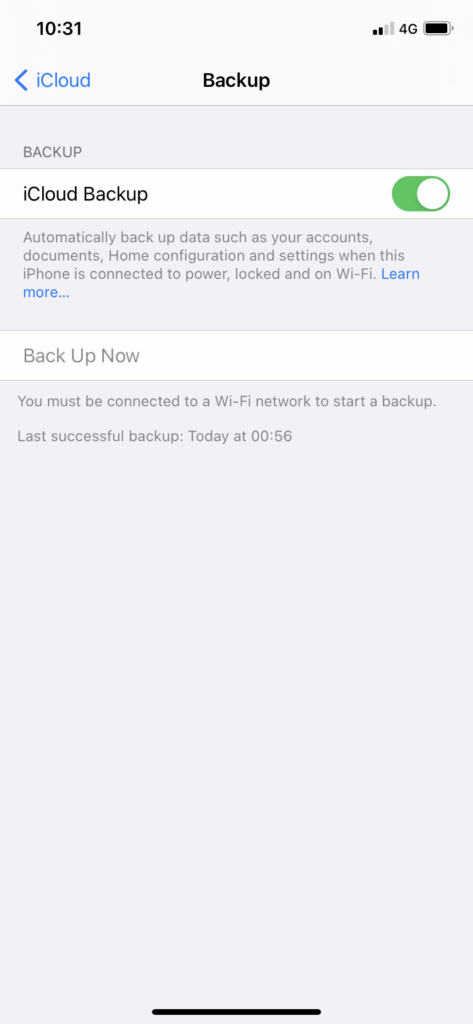 how to backup your Apple Watch 3