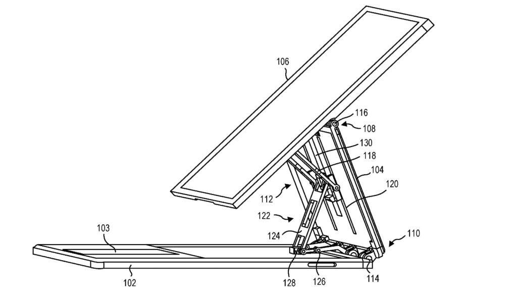Microsoft Surface Book 4 patent