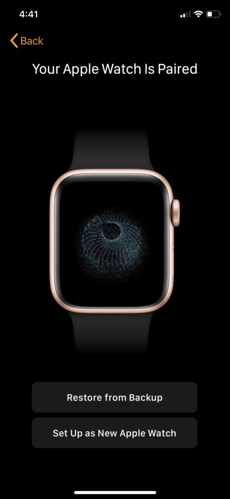 pair Apple Watch Your Apple Watch Is Paired
