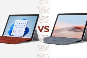 Surface Go 3 vs Surface Go 2